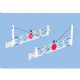 Peco LK-750 Level Crossing Gates (x2)